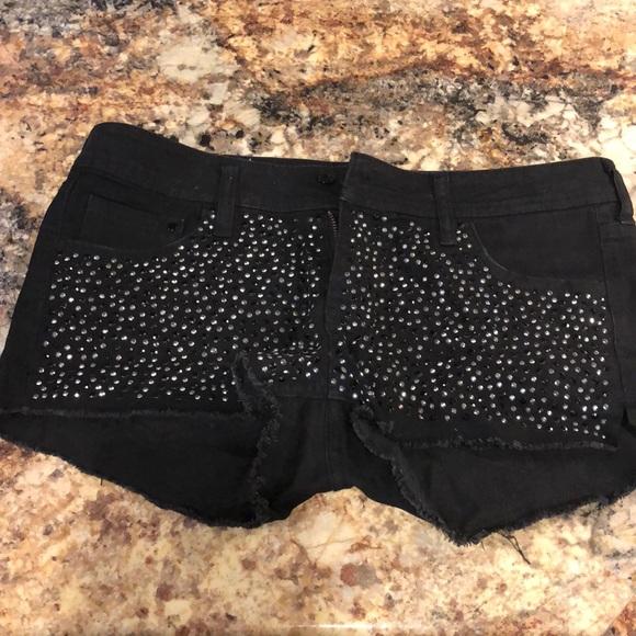 Forever 21 Pants - Forever 21 denim sequin shorts!
